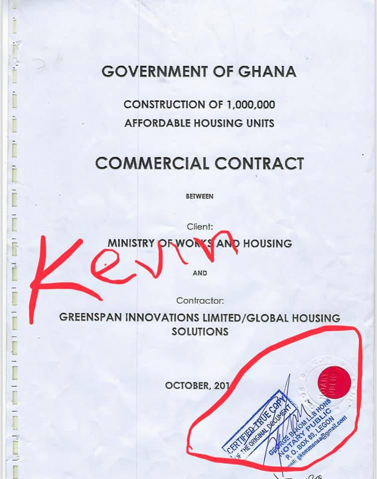 Kelvin Taylor releases first set of prove against Works & Housing minister Samuel Attah Kyea