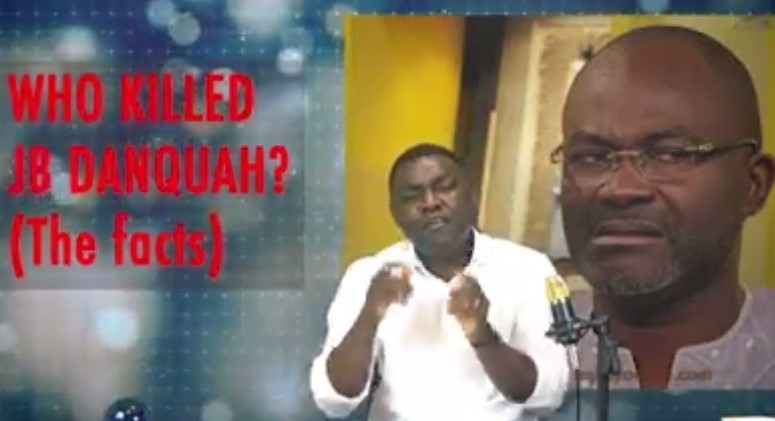 It has emerged that a CCTV within the neighborhood captured a suppose MP's car a few hours before the death of J.B Danquah. Video upload by OneLoveGhana and sighted by thenewsgod.com including a commentary indicates that Kenndy Agyapong could be figured in the death of the late MP.