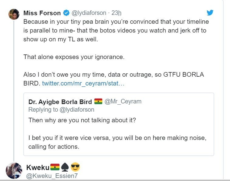 Lydia Forson Silently Encourages Women to Abuse Men