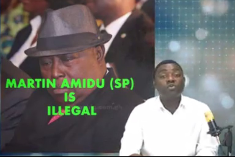 Kelvin Ekow Baidoo Taylor has for the first time hit hard at the special prosecutor Mr. Martin Amidu.
