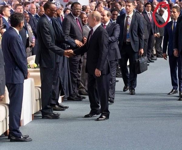 Akufo-Addo 'sleeps' at Russia Africa Summit 2019