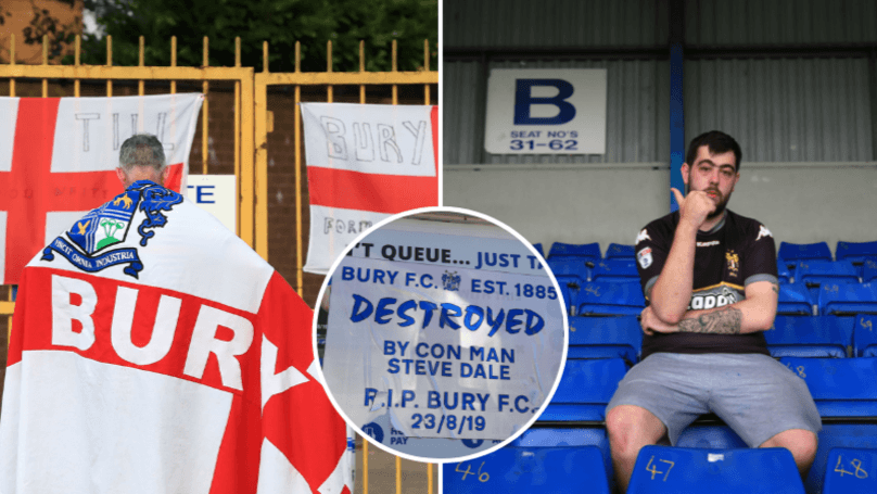 Sports News: Bury FC Have Been Expelled From The EFL