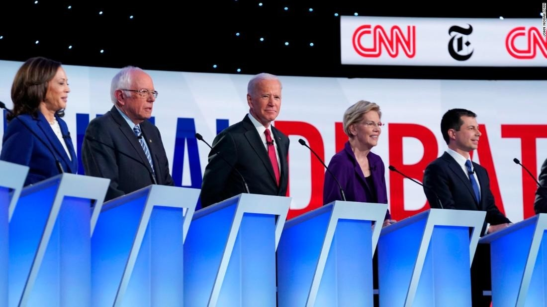 Political News: CNN Poll: Biden leads nationally as Buttigieg rises – CNN