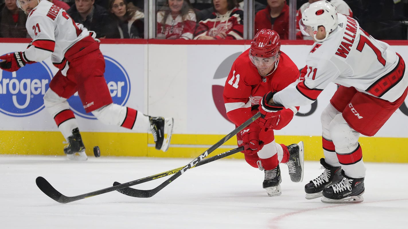 Latest Sports News: How Detroit Red Wings prospect Filip Zadina regained his confidence – Detroit Free Press