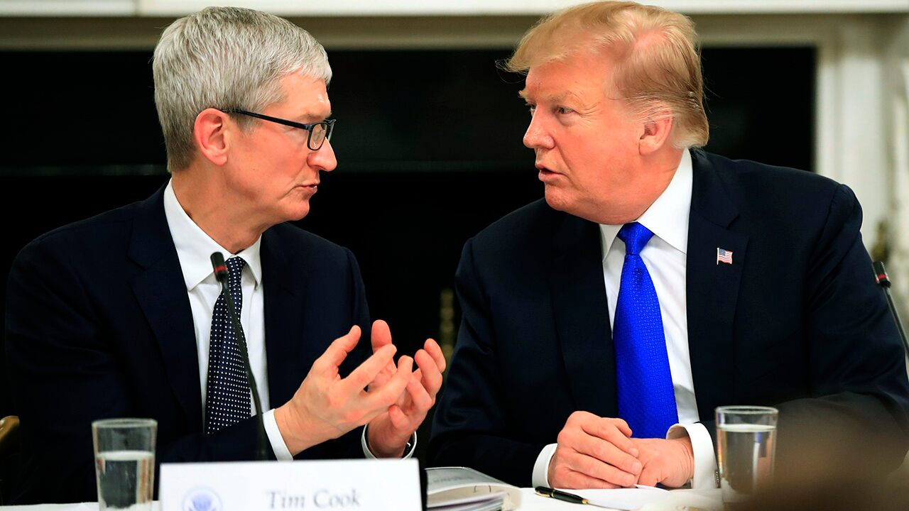 Fox news today: Apple employees support Tim Cook's lobbying efforts with Trump, surprising survey shows