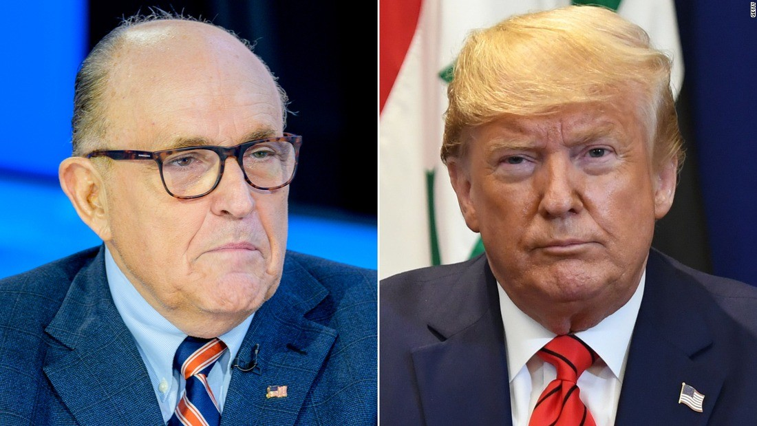 Political News: Trump contradicts testimony — and himself — by claiming he never directed Giuliani on Ukraine – CNN