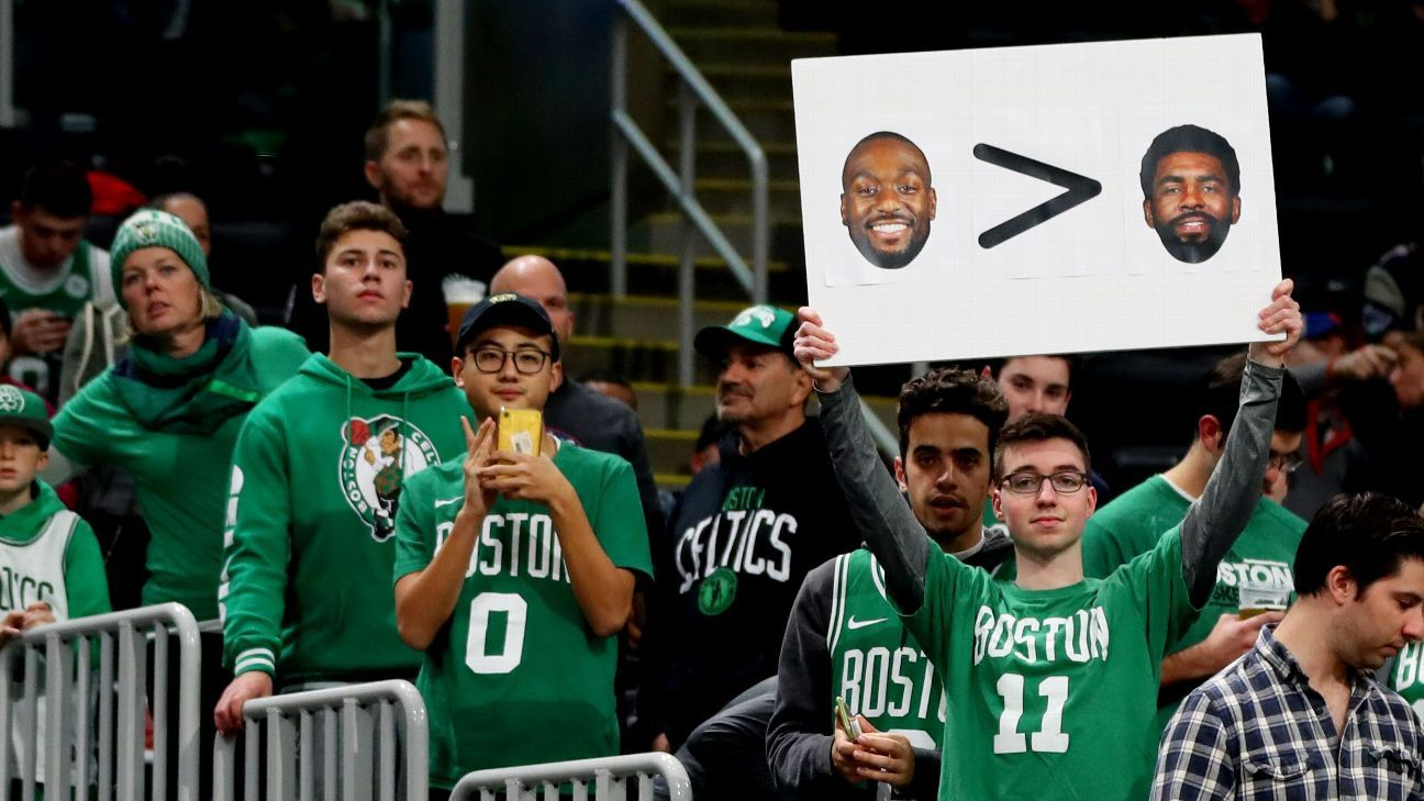 Political News: Absent Kyrie Irving taunted in Boston, then speaks out on social media – ESPN