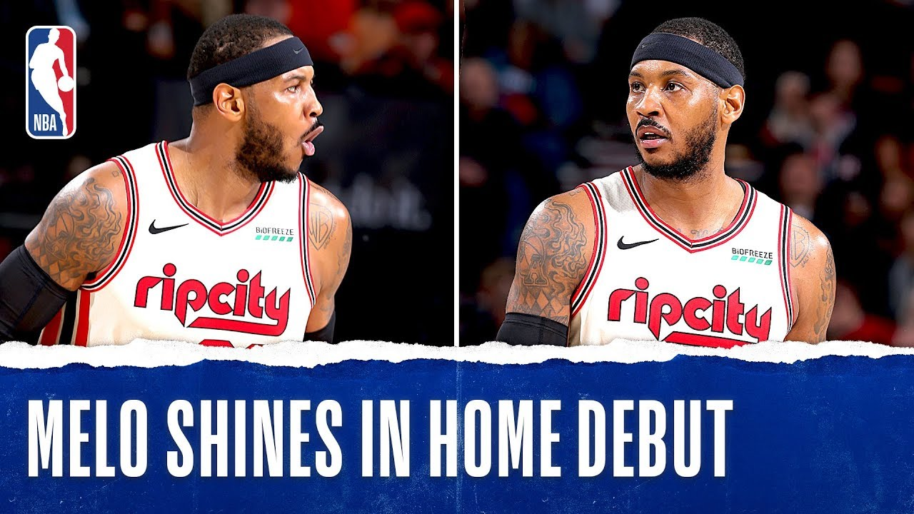 Latest Sports News: Melo Shines In Home Debut! – NBA