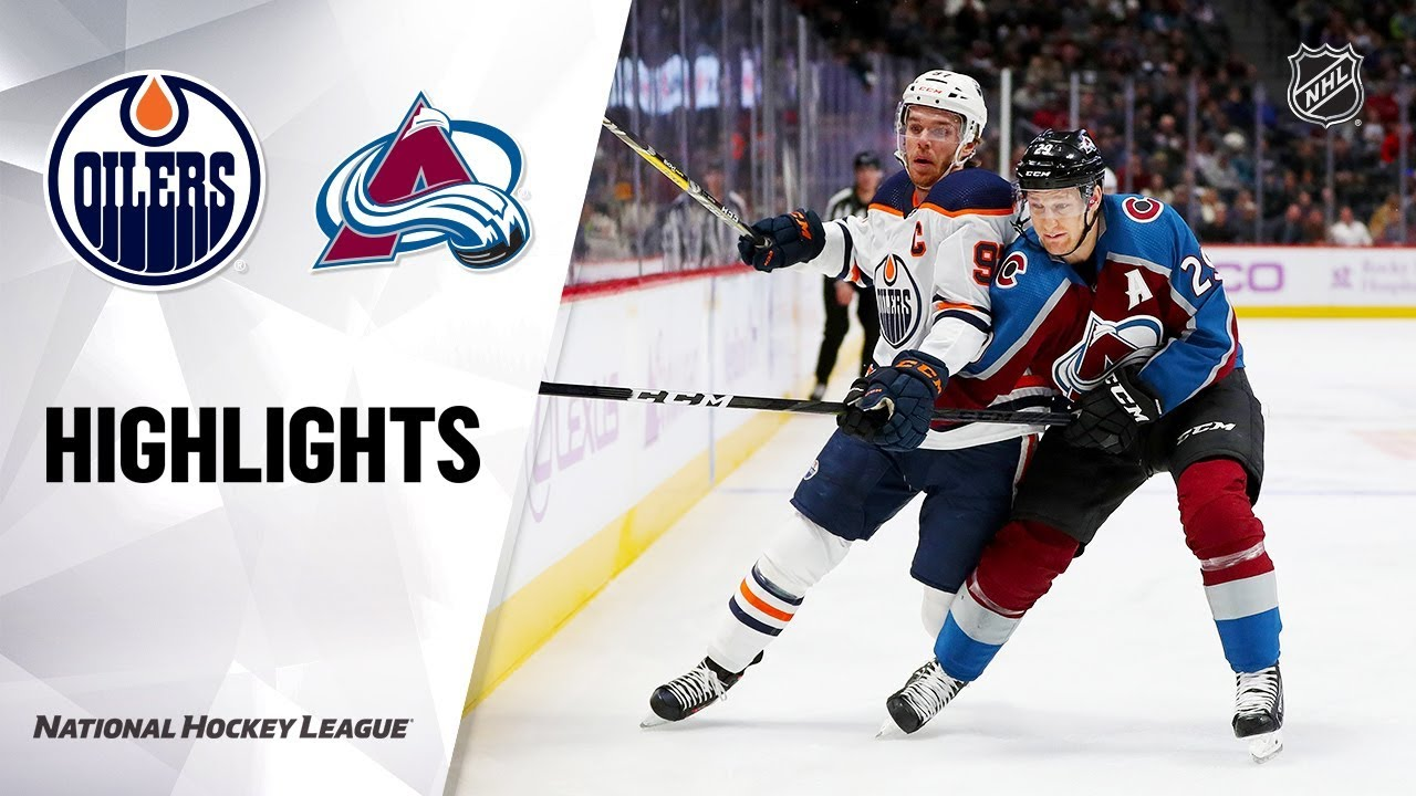 Latest Sports News: NHL Highlights | Oilers @ Avalanche 11/27/19 – NHL