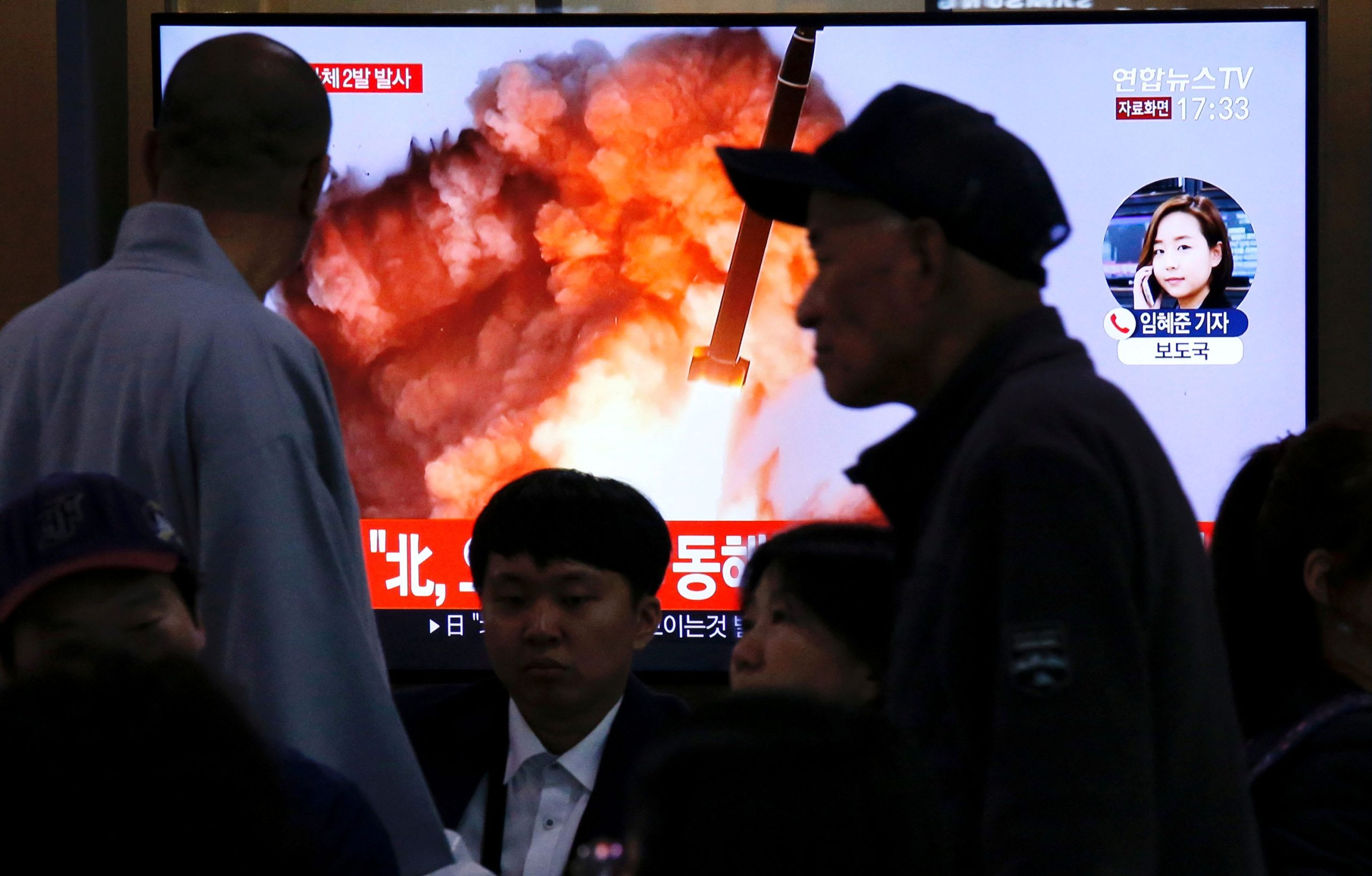 Political News: North Korea fires unidentified projectile, South Korea military says – CNBC