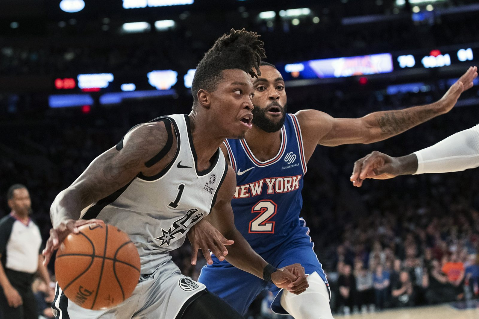 Latest Sports News: Lonnie Walker excelled as the Spurs' 'energy guy' in Wednesday's loss – mySA