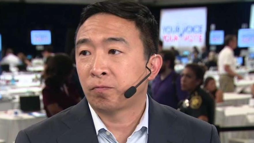 Fox news today: Andrew Yang accused of firing woman from tutoring company after she complained about pay disparity