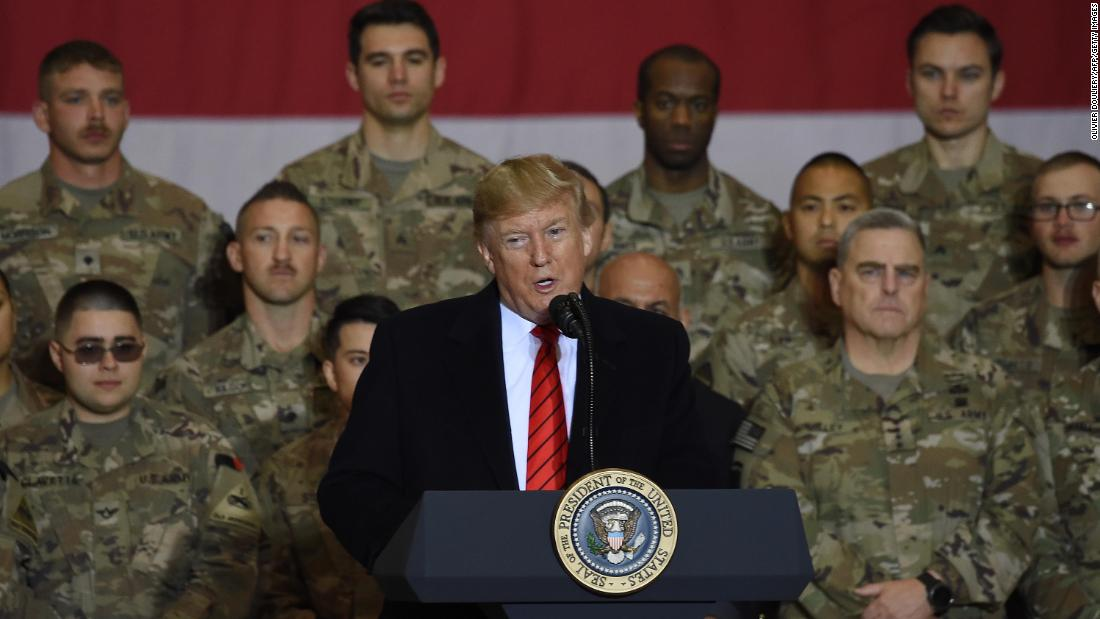 Political News: President Trump announces Taliban talks have restarted on surprise Afghanistan visit – CNN