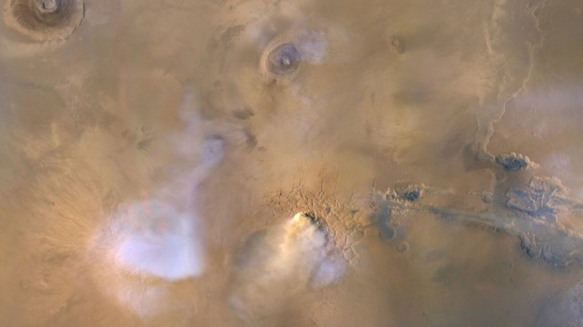 Political News: Gigantic Dust Towers on Mars Could Explain How the Red Planet Lost its Water – Gizmodo