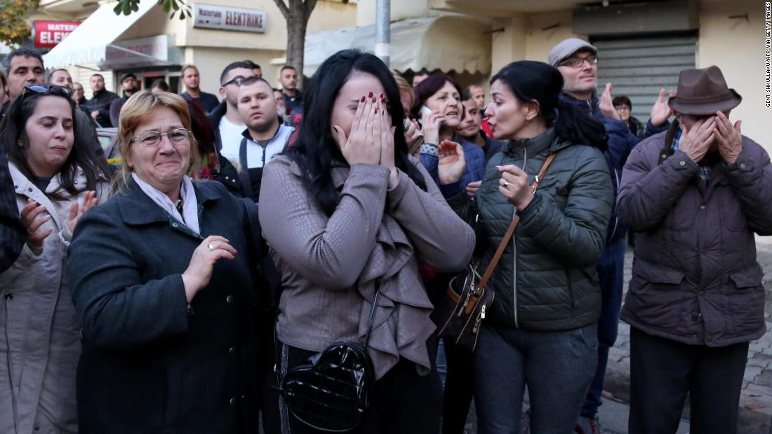 Political News: The Albanian Prime Minister's future daughter-in-law is among dozens killed in earthquake – CNN