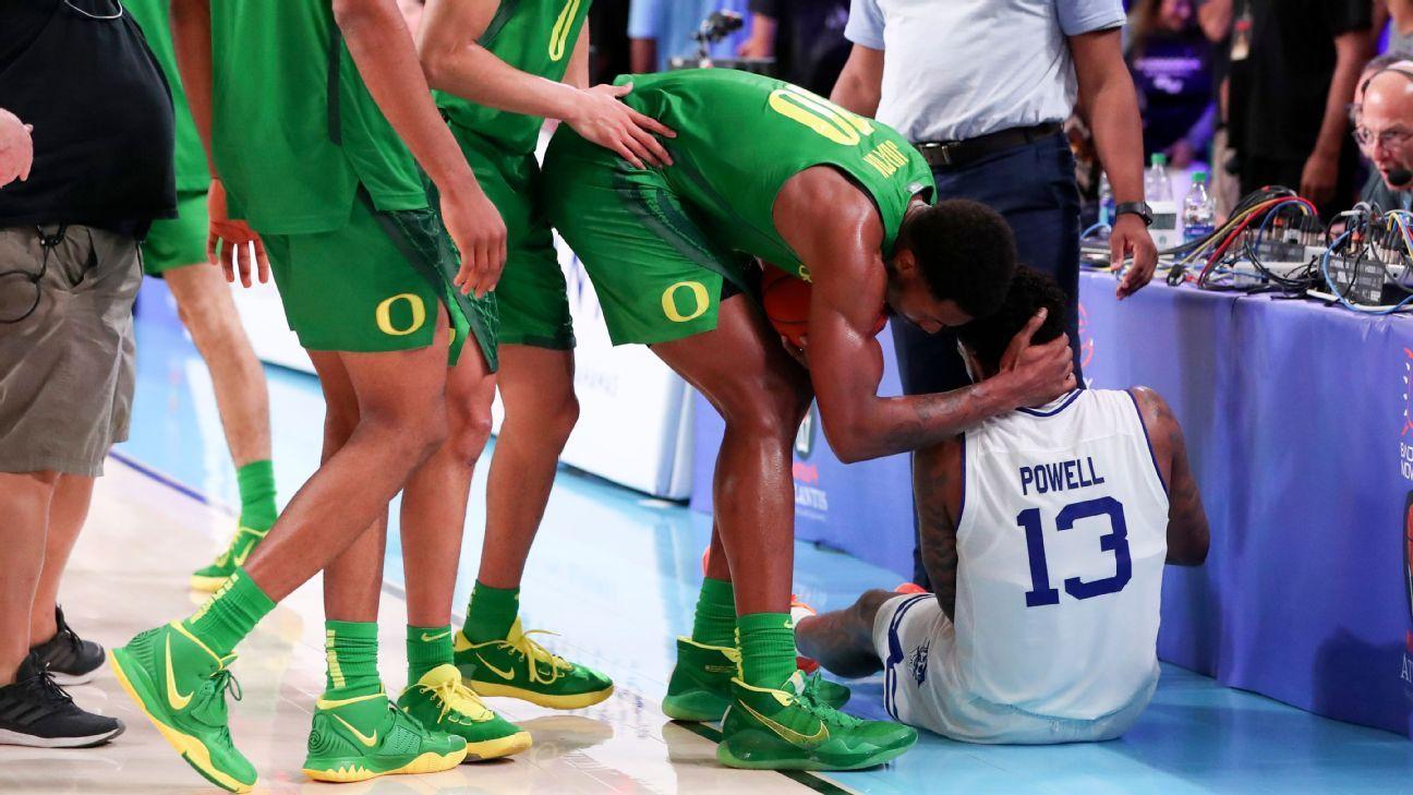 Latest Sports News: Oregon freshman apologizes for tripping Seton Hall's Myles Powell – ESPN