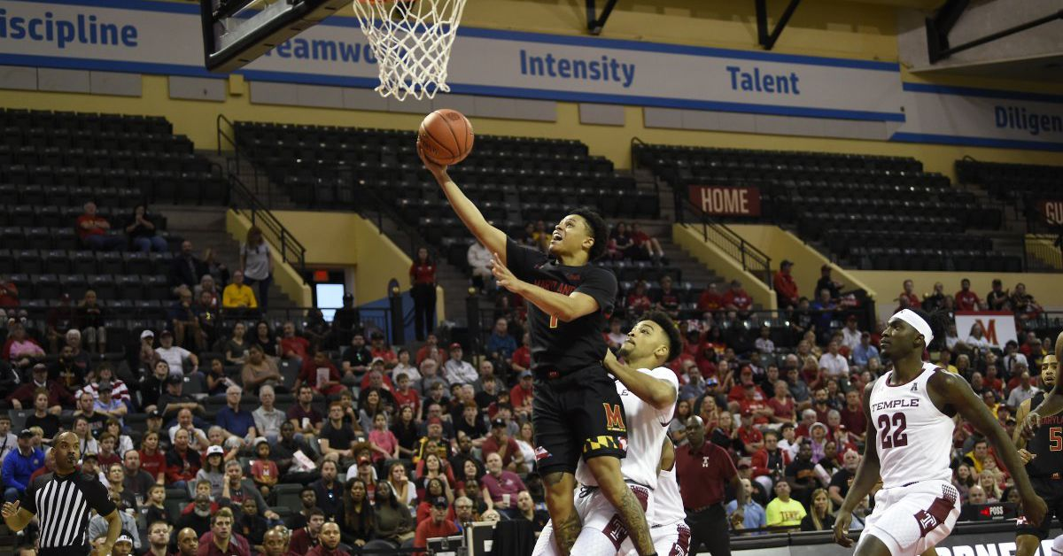 Latest Sports News: Anthony Cowan Jr. leads No. 5 Maryland men's basketball to 76-69 win over Temple – Testudo Times
