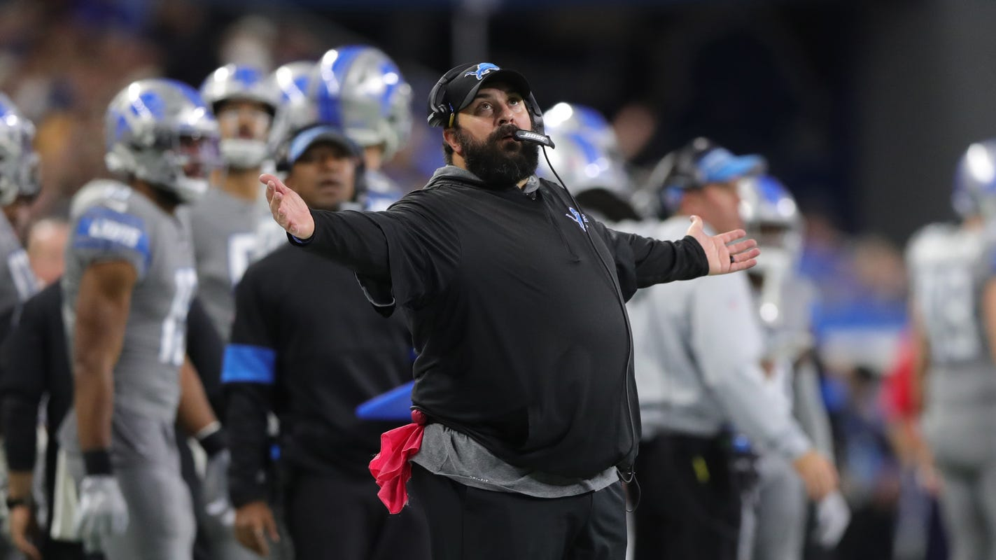 Latest Sports News: Matt Patricia's future in limbo as Detroit Lions eliminated from playoff contention – Detroit Free Press