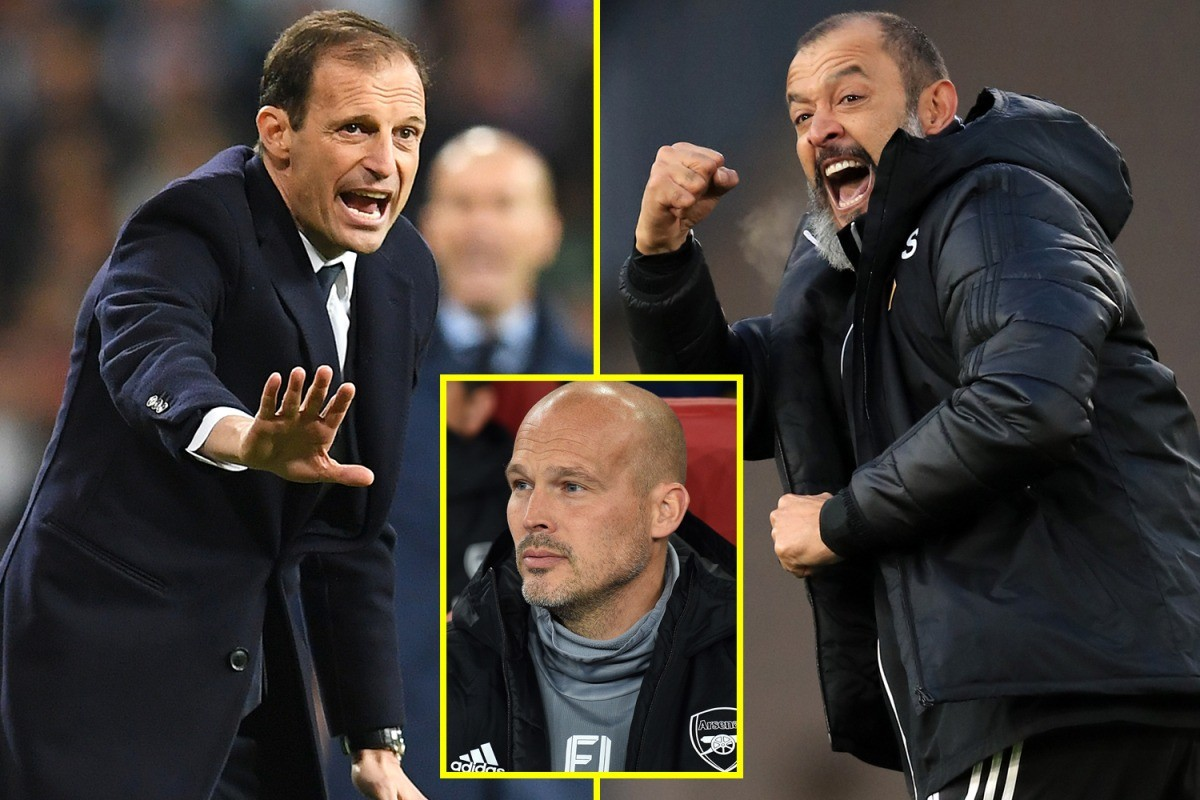 Max Allegri leads contenders for Arsenal job ahead of Mikel Arteta after Unai Emery sacked