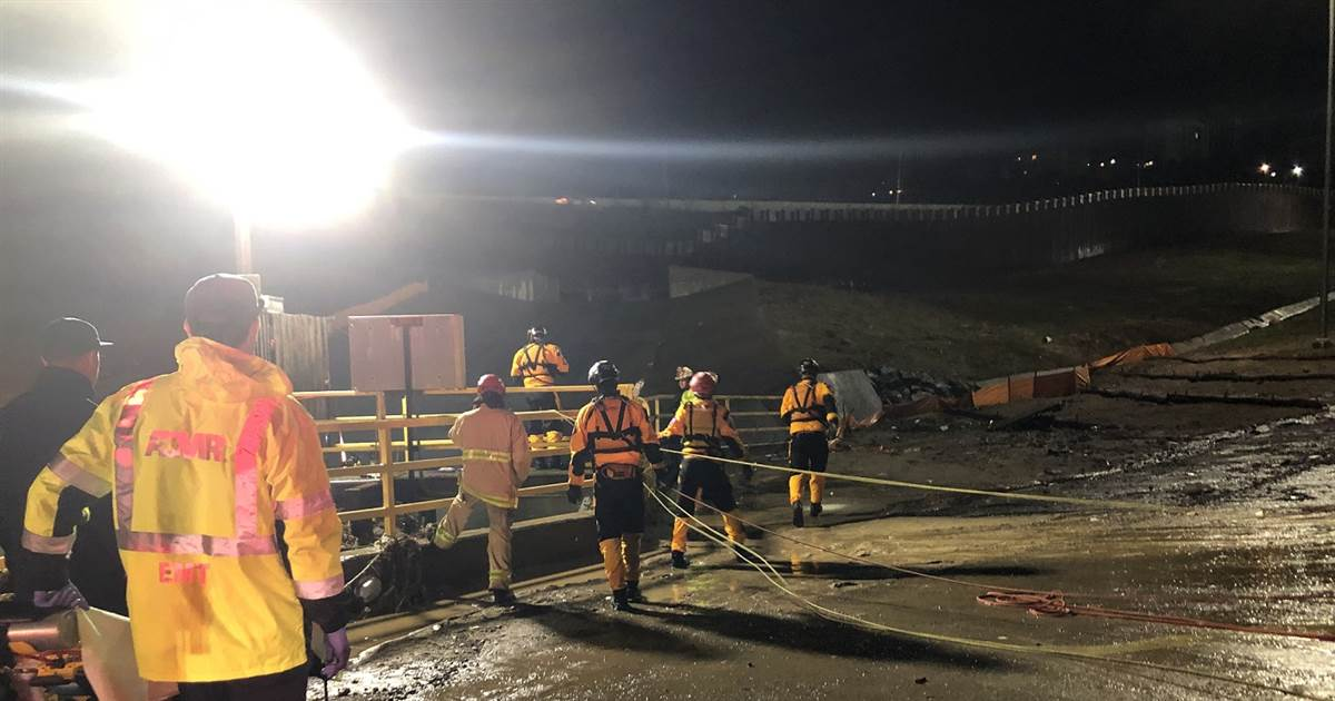 Latest News: 1 dead, 22 rescued at border after heavy rains in California – NBC News