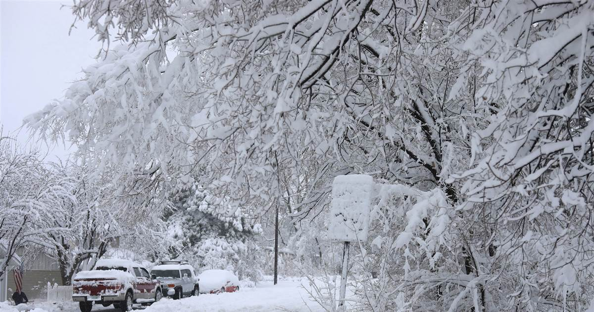 Latest News: Snowy, windy, wet weather may make getting home from Thanksgiving a challenge – NBC News