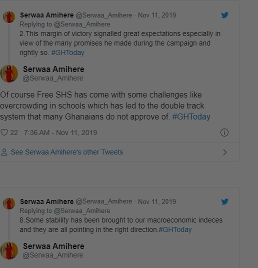 Ghanaians yet to see no-nonsense leadership from Akufo-Addo – Serwaa Amihere