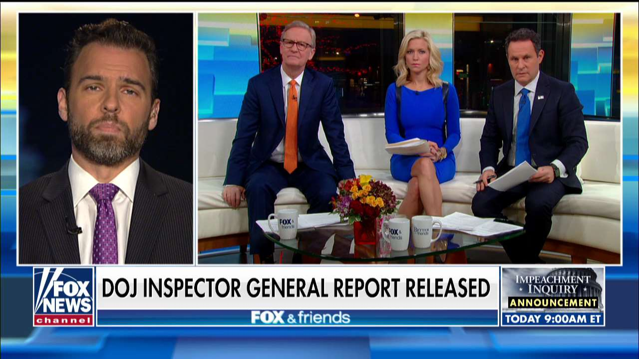 Fox News Today: Former DOJ official: Durham's reaction to IG report means 'he's got the goods on somebody'
