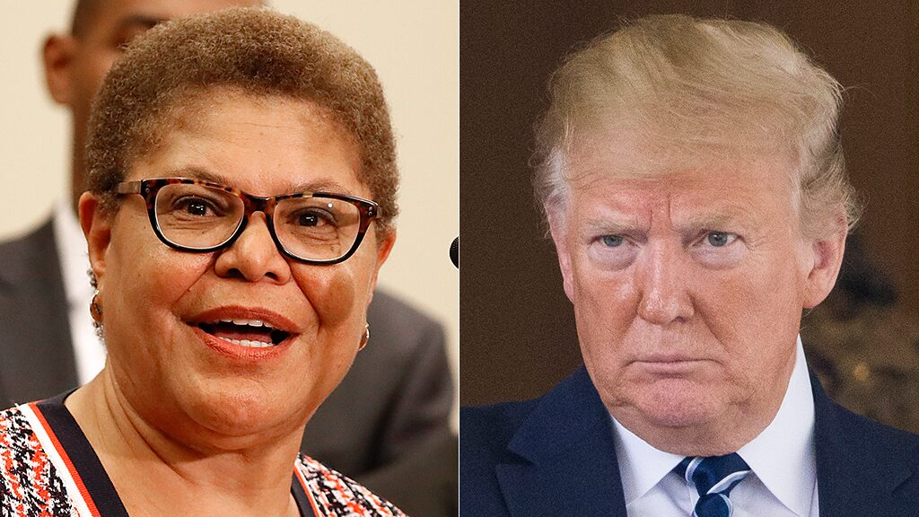 Fox News Today: Democrat Karen Bass says she's open to impeach Trump again if he gets reelected in 2020