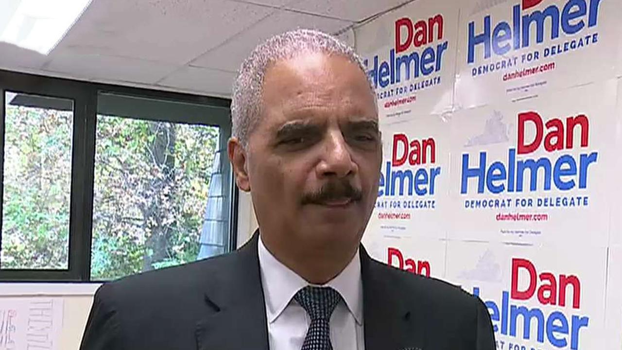 Fox News Today: Eric Holder, once Obama's 'wingman,' now calling out Barr for loyalty to Trump