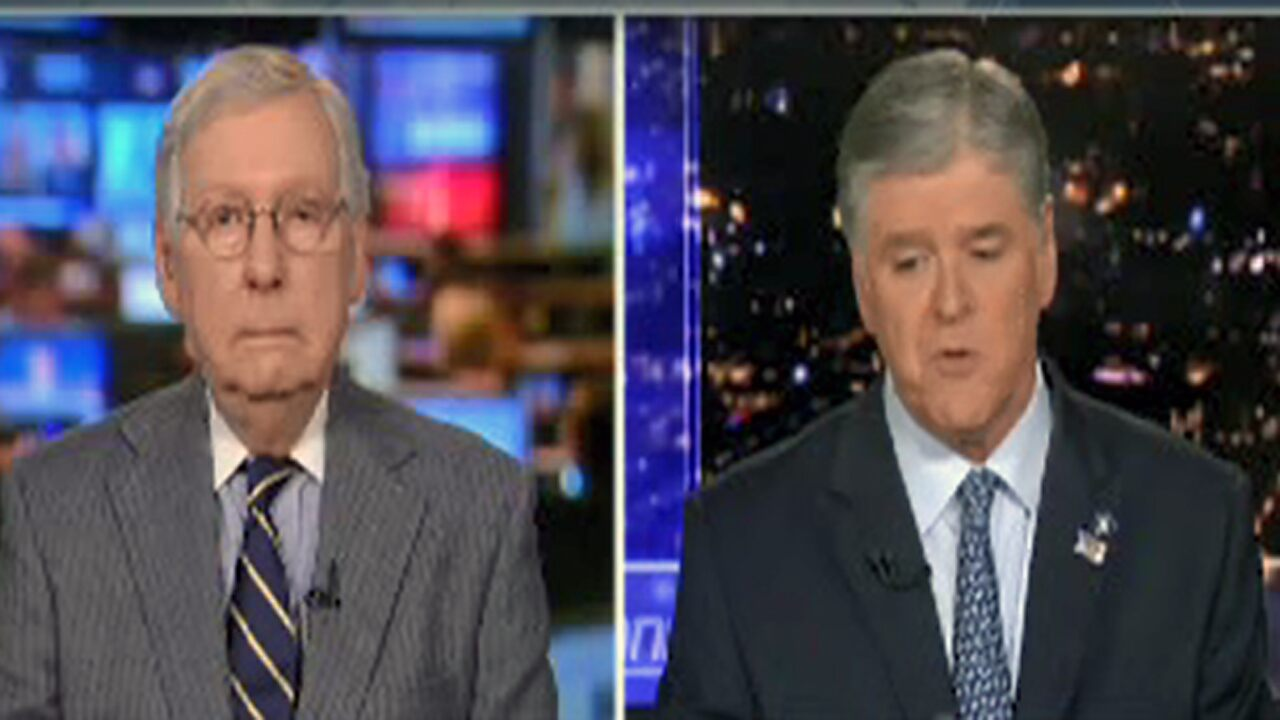 Fox News Today: Hannity exclusive: McConnell says 'zero chance' Trump is removed, 'one or two Democrats' could vote to acquit
