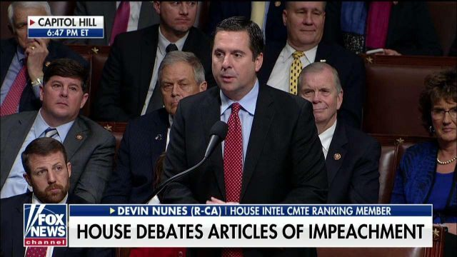 Fox News Today: Devin Nunes: 'The only thing President Trump is guilty of is beating Hillary Clinton'