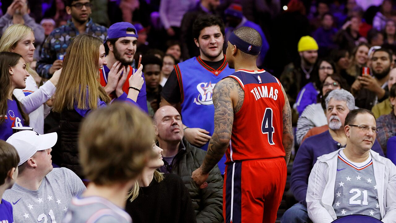 Fox News Today: Washington Wizards' Isaiah Thomas confronts fan in stands who gives finger, curses at him