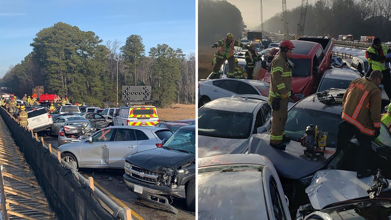 Fox News Today: Massive 35-car pileup in Virginia leaves several with life-threatening injuries, shuts down interstate