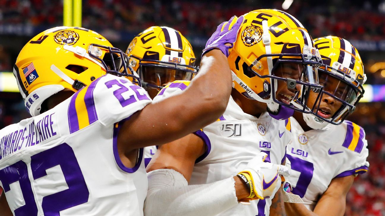 Latest News: College Football Playoff tracker — OU is safe, while LSU, Ohio State and Clemson battle for top spot – ESPN