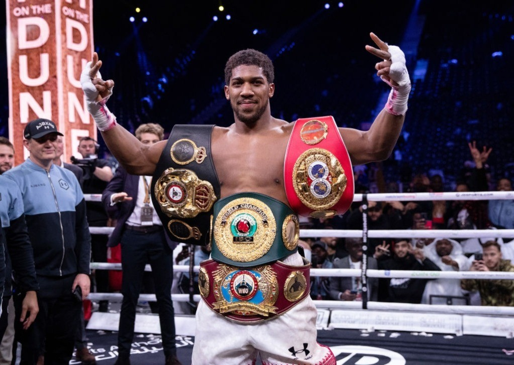 Latest Sports News: Heavyweight Champion Anthony Joshua: What is His Net Worth? – Showbiz Cheat Sheet