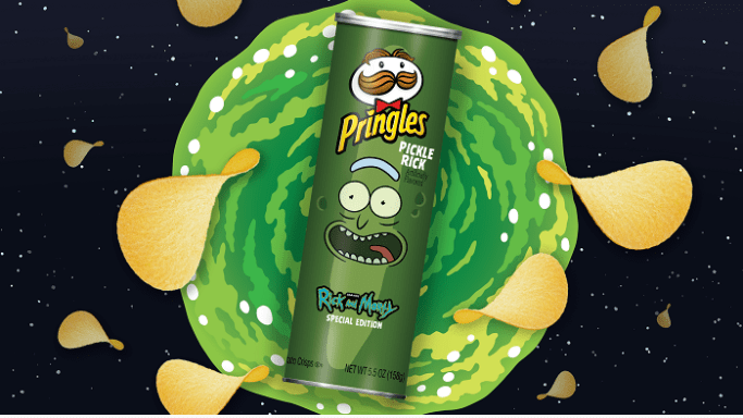 Rick and Morty fans to get a pickle rick flavoured