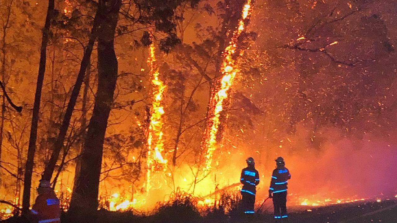 Emergency bushfire alert in WA Peel region
