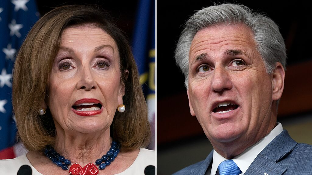 mccarthy:-pelosi-may-have-held-impeachment-articles-to-hurt-sanders'-election-chances