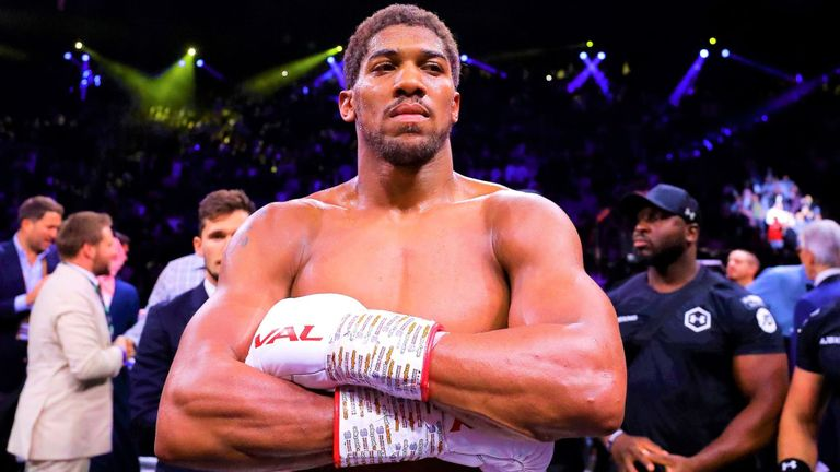 If Anthony Joshua in the boxing ring does not pummel an opponent, he may be checking out his growing wealth portfolio.
