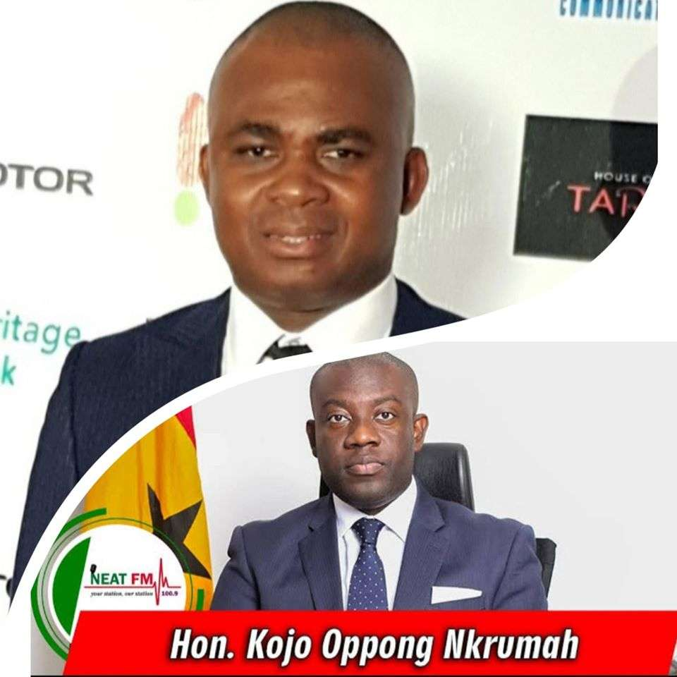 Popular businessman and philanthropist Oscar Yao Doehas mount pressure on the Information Minister, Mr Kojo Oppong Nkrumah to as a matter of urgency to come out and refute reports that figures him in the Galamsey saga.