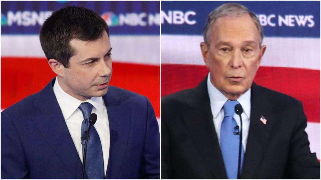 Buttigieg suggests that 'maybe' Bloomberg 'should step aside' over campaign memo