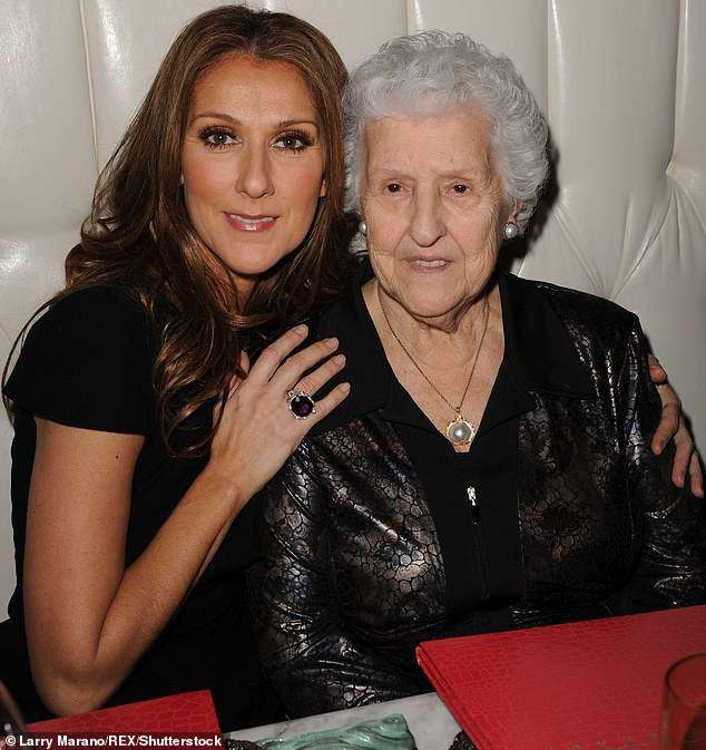 Celine Dion grateful to fans for their support following her mum's death
