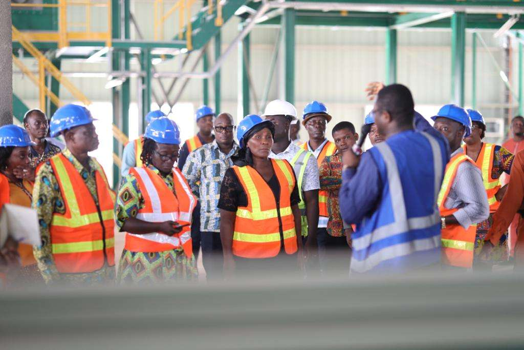 Completed Kumasi compost and recycling plant hosts MPs