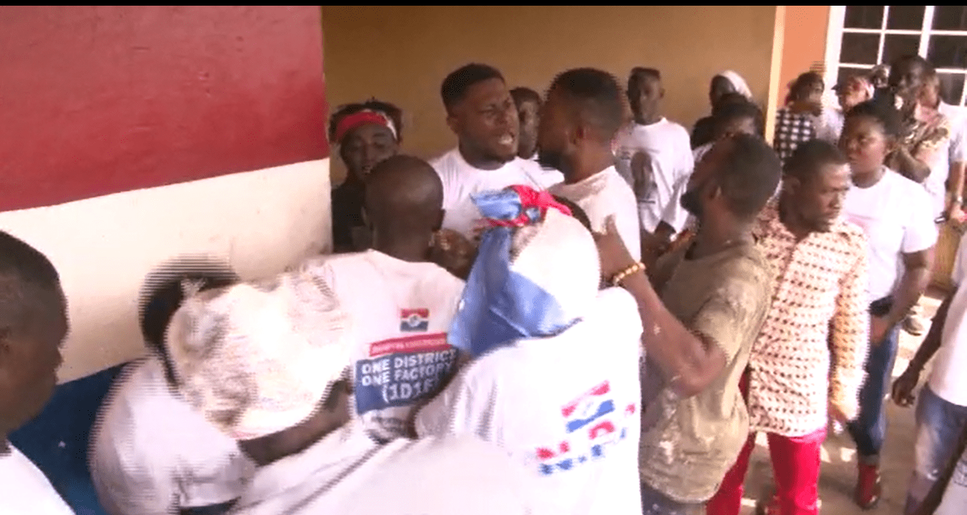Five injured in violent clashes between NPP supporters over nomination forms