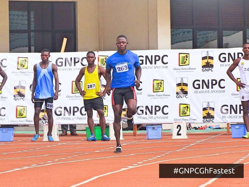 GNPC Ghana Fastest Human (GFH) competition
