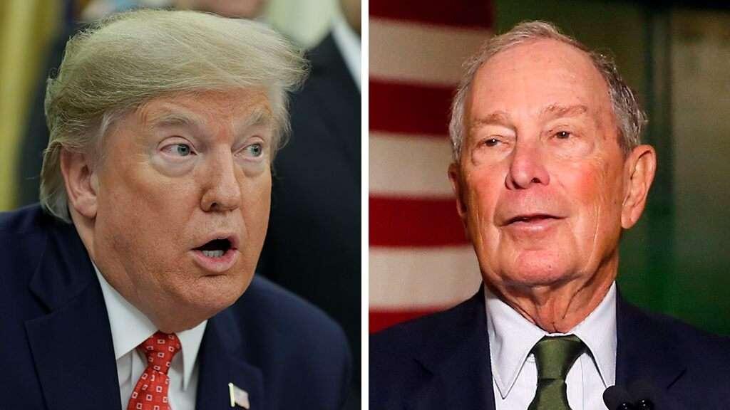 Trump and Bloomberg spar on Twitter ahead of debate