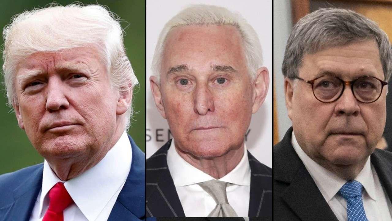Trump denies interfering in Roger Stone case, stays mum on possible pardon