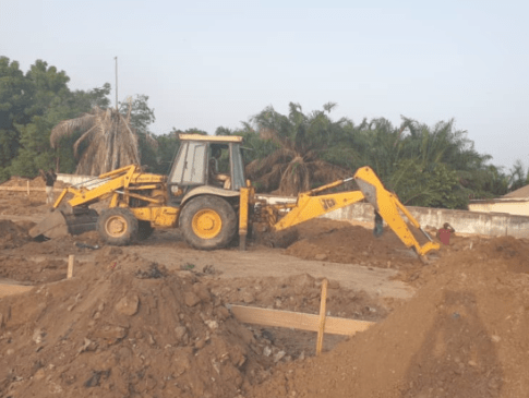 Construction of COVID-19 epidemic centre begins at Korle Bu