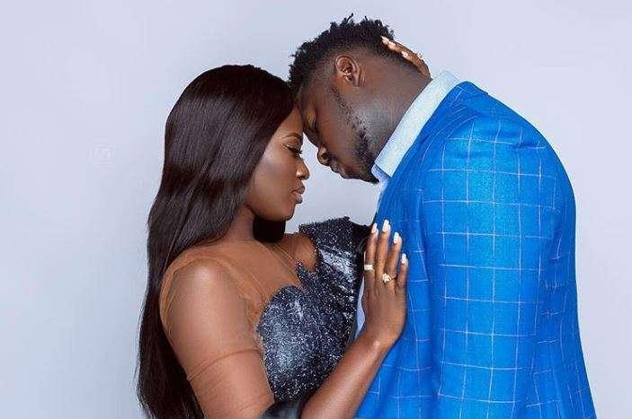 Fella Makafui Finally Reacts After Medikal Confirmed their Wedding – Madam Is In Ecstacy