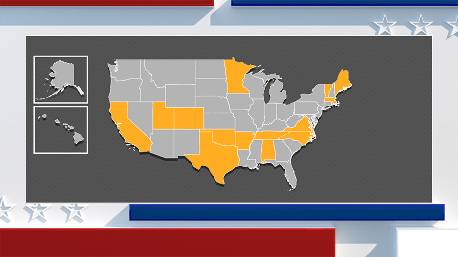Super Tuesday guide: The states, the stakes, who's in contention and more